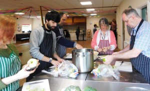 May Community Lunch 2107
