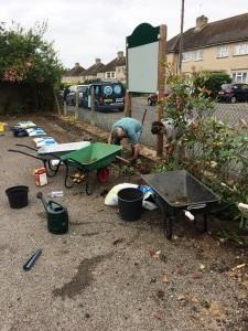 Volunteering Gardening Days 2017